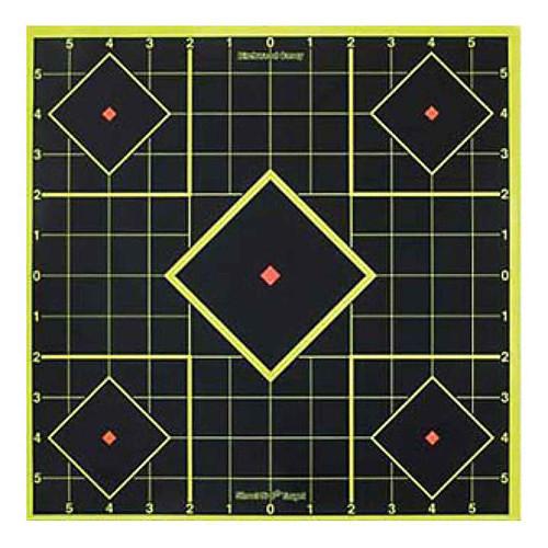 Birchwood Casey Shoot-N-C Self-Adhesive 8in Sight-In Targets Pack of 5 34105