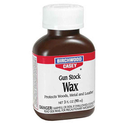 Birchwood Casey Gun Stock Wax 3 oz Bottle 23723