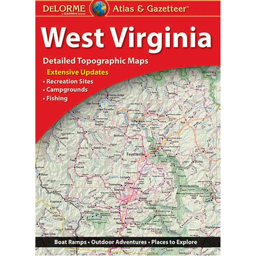 Delorme West Virginia Atlas & Gazetteer