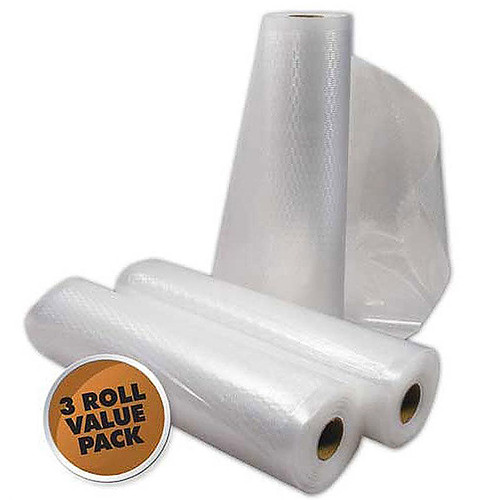Weston Vacuum Bag Rolls - 8 in x 22 ft (3 count)