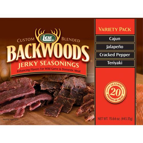 LEM Backwoods Jerky Seasoning Variety Pack #2