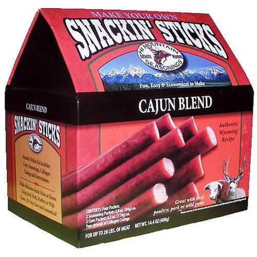 Hi Mountain Seasoning Cajun Snackin' Stick Kit