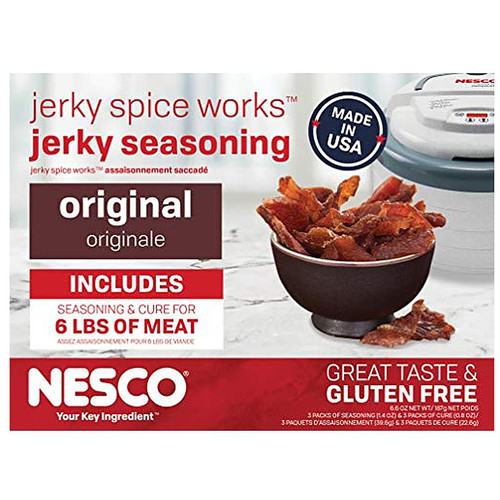 NESCO Jerky Spice Works Original Jerky Seasoning