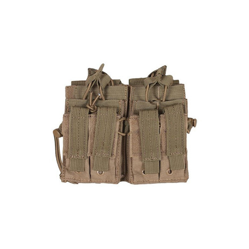 Fox Outdoor Products Tactical Quad Stack, Coyote