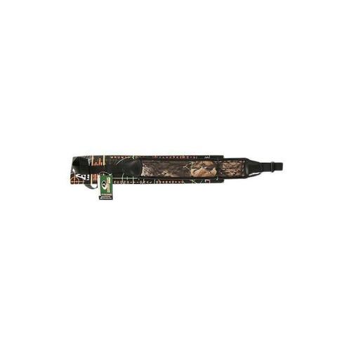 AA&E Leathercraft 8505042-393 Mossy Oak Breakup Neoprene Shotgun Sling, Black