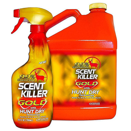 Wildlife Research Scent Killer Gold Gallon Scent Elimination Combo, 1268