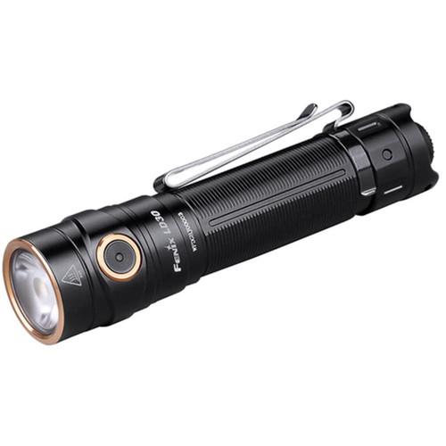 Fenix LD30 Flashlight LED with 18650 Rechargeable Battery Aluminum Black