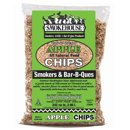 Smokehouse Products Apple Wood Chips