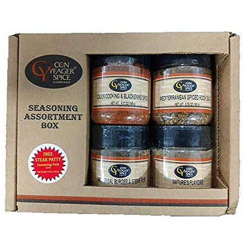 Con Yeager Spice Grilling Assortment Box