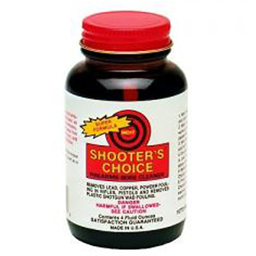 Shooters Choice Bore Cleaner and Conditioner 4 Ounce Wide Mouth Jar, MC704