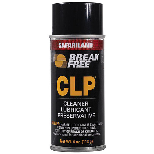 Break-Free CLP Bore Cleaning, Lubricant Rust Preventative 4oz Aerosol CLP-2
