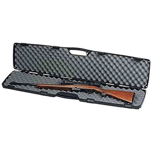 Plano 10-10475 Gun Guard SE Single Scoped Rifle Case Black, 1010475
