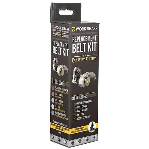 Darex WSSAK081113 Work Sharp Ken Onion Edition Replacement Belt Kit, WSSAKO81113