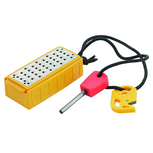 Smith's 50562 Natural Tinder Maker with Fire