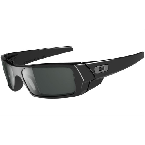Oakley 03-471 Gas Can Polished Black with Grey Sunglasses