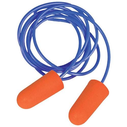 Radians Disposable Foam Earplugs Orange 3 Pair Corded FP8100BP