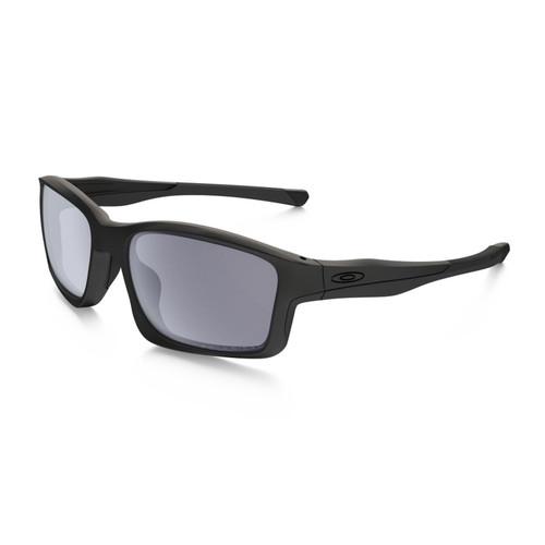 Oakley OO9247-15 Chainlink Mat Black Grey Polarized Sunglasses