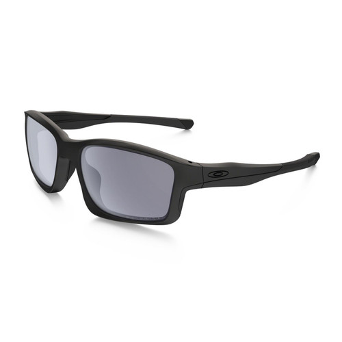 Oakley OO9247-15 Chainlink Mat Black Grey Polarized Sunglasses