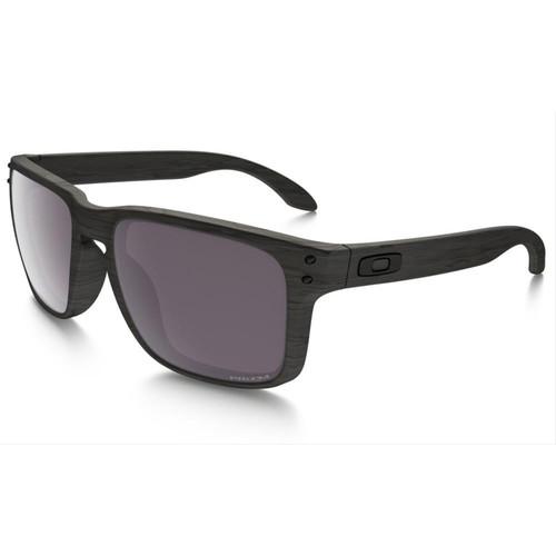 Oakley OO9102-B7 Holbrook Woodgrain Prizm Polarized Sunglasses