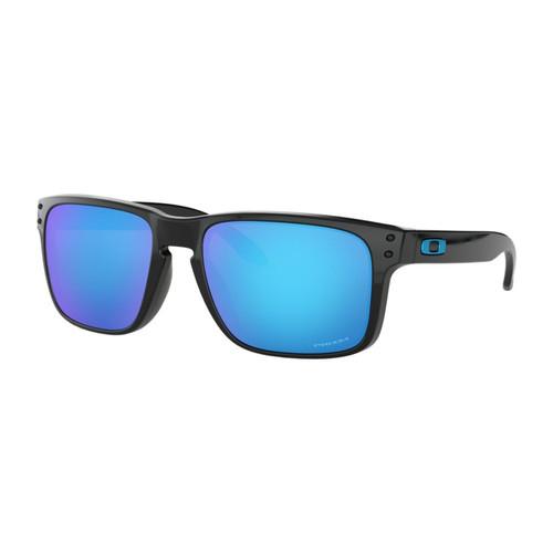 Oakley OO9102-F555 Holbrook Polarized Black Prizm Sapphiree Sunglasses