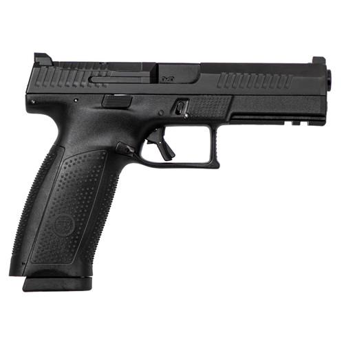 "CZ P-10 9mm 4.5"" Barrel 19rd Optics Ready Black"