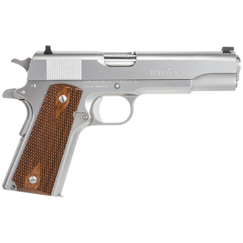 """Remington 1911 R1 Govt 45 ACP 5"""" Barrel Stainless Steel Finish 7rd Mag"""