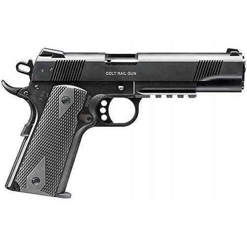 Walther Colt 1911 .22 L.R. Rail Gun Black 12 Round 1 Mag