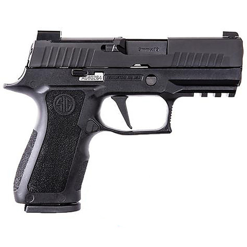 """Sig P320 X-Compact 9MM 3.6"""" Barrel Night Sights With 3 Plates Black Finish 15Rd 2 Magazines"""