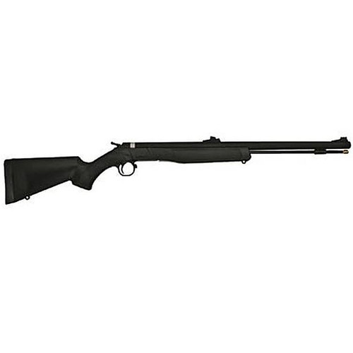 CVA Wolf 209 Muzzleloader .50 Caliber 24 Inch Blued Barrel Black Composite Stock With Many Accessories