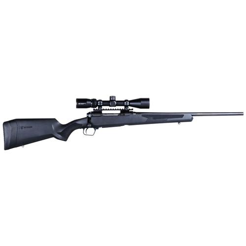 """Savage 110 Apex Hunter XP 350 Legend 18"""" Barrel 3-9x40mm Black 4rd"""