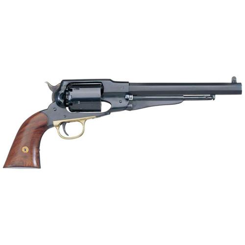 "Uberti 1858 New Army Revolver .44 Black Powder 8"" Barrel Blue Steel Frame & B/S Brass Trigger Guard"