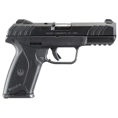 """Ruger Security-9 Pistol 9mm 4"""" 15rd Blued Finish Integral Grip"""