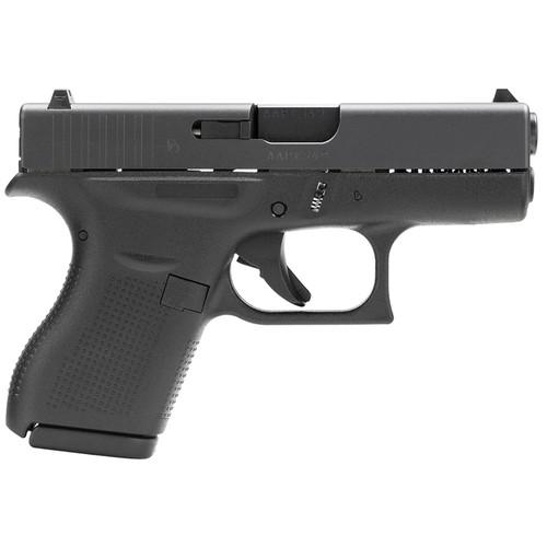 "Glock G42 380 ACP 3.25"" Barrel Black 6 Round"