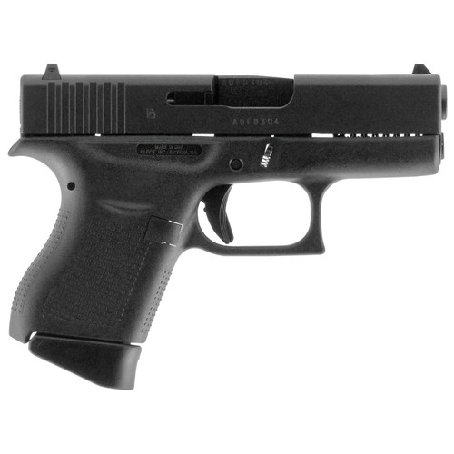 """Glock G43 Single Stack 9mm 3.39"""" Made in USA 6rd Mag"""