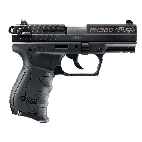 "Walther PK380 .380 ACP 3.6"" Barrel Black 8 Round 1 Mag"