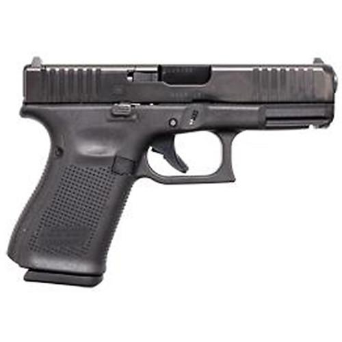 """Glock 19 Gen 5 MOS Compact 9MM 4"""" Barrel Fixed Sights 3- 15Rd Mags Front Serrations Ambi Slide Stop Gen5"""