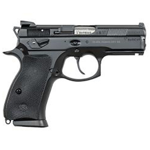 CZ P-01 Omega 9mm Black Alloy 14 rd Swappable Safety/Decocker