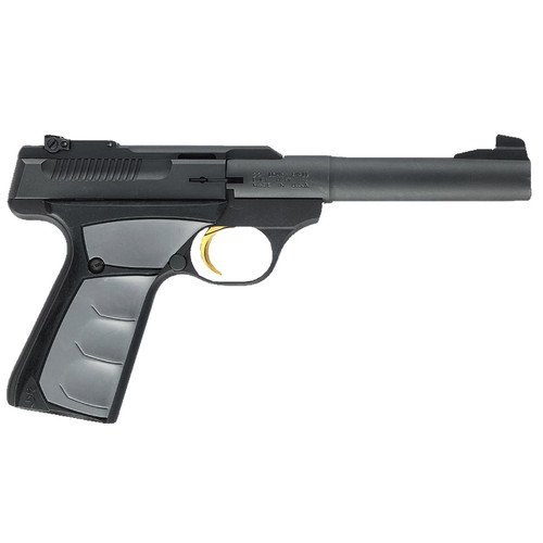 """Browning Buck Mark Camper UFX .22LR 5.5"""" Tapered Bull Barrel UFX Ambidextrous Grips 10 Rd Mag"""