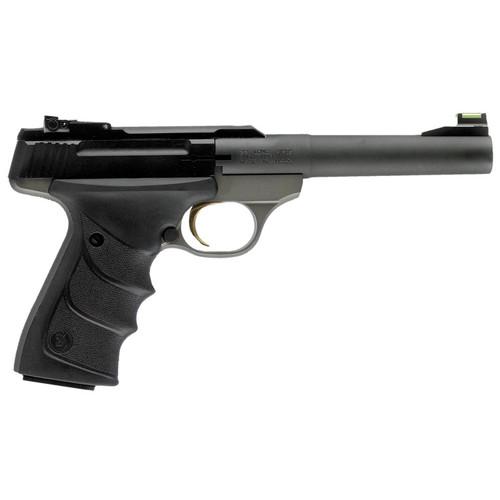 "Browning Buck Mark 22LR 5.5"" Barrel Practical URX Fiber Optic Sight 10 Round Mag"