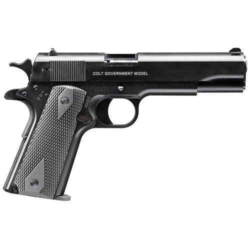 """Walther Colt 1911 A1 Govt 22LR 5"""" Barrel Black 12 Round 1 Mag"""