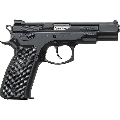 CZ 75 B Omega Convertible 9mm Black 16+1 Swappable Safety/Decocker