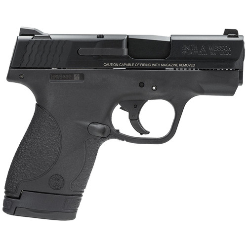 """Smith & Wesson M&P Shield 9mm 3"""" Barrel Black Melonite Finish 7rd and 8rd Mags"""