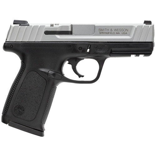 """Smith & Wesson SD9 VE 9mm 4"""" Barrel Two-Tone Finish Self Defense Trigger 17rd"""