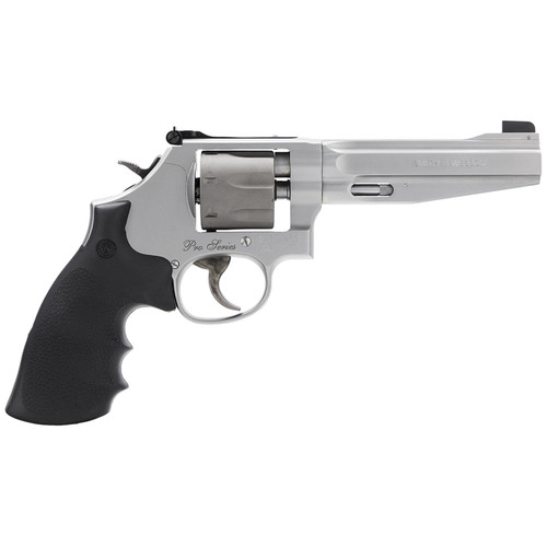 """Smith & Wesson 986 Performance Center Revolver 9mm 5"""" Matte Stainless 7 Rds"""