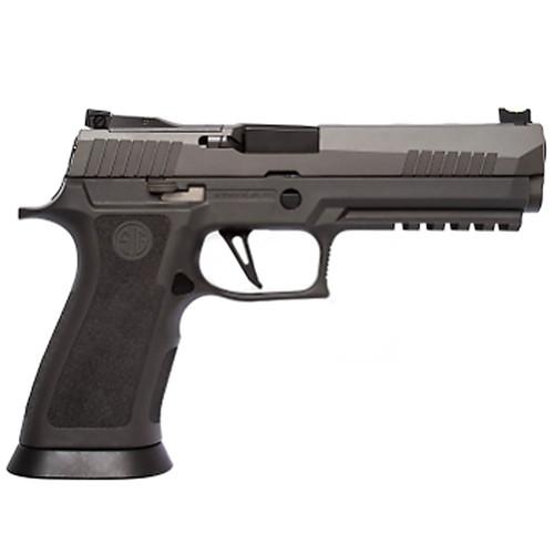 """Sig P320 XFIVE Legion 9mm 5"""" Bull Barrel Dawson Precision Sights Gray 17rd Mag"""