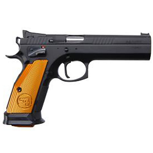 """CZ 75 Tactical Sport Orange 9mm 5.4"""" Barrel 20rd Mag"""