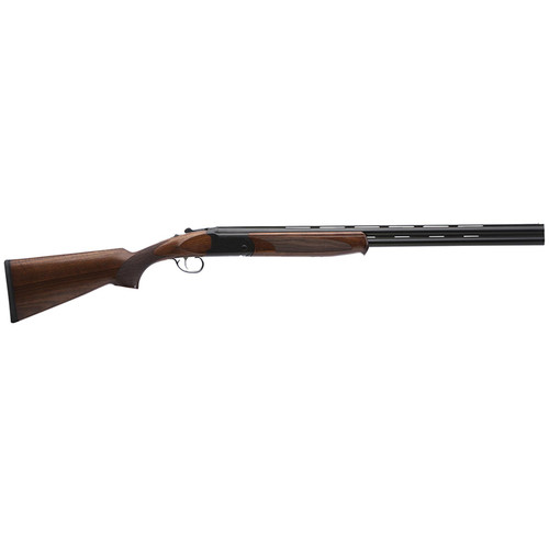 "Stevens 555 Over/Under 12 ga 28"" Turkish Walnut Stock Blued"