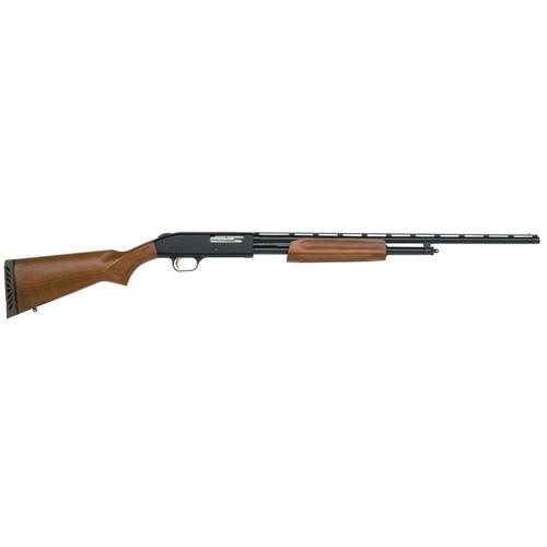 """Mossberg 500 Pump 410 ga 24"""" 3"""" Wood Stock Blued"""