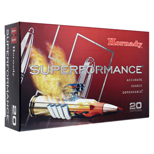 Hornady 8061 Superformance 7mm Remington Magnum 154 GR SST 20 Box