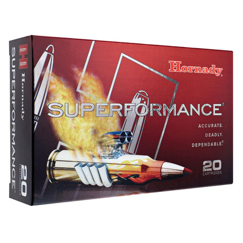 Hornady 8099 Superformance 308 Winchester7.62 NATO 165 GR GMX 20 Box